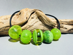CiM Chartreuse blown glass hollows