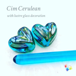 CiM Cerulean with lustre glass decoration