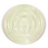 Yangtze Ltd Run (511457)<br />A core of clear, encased in transparent yellowish green, encased in clear.